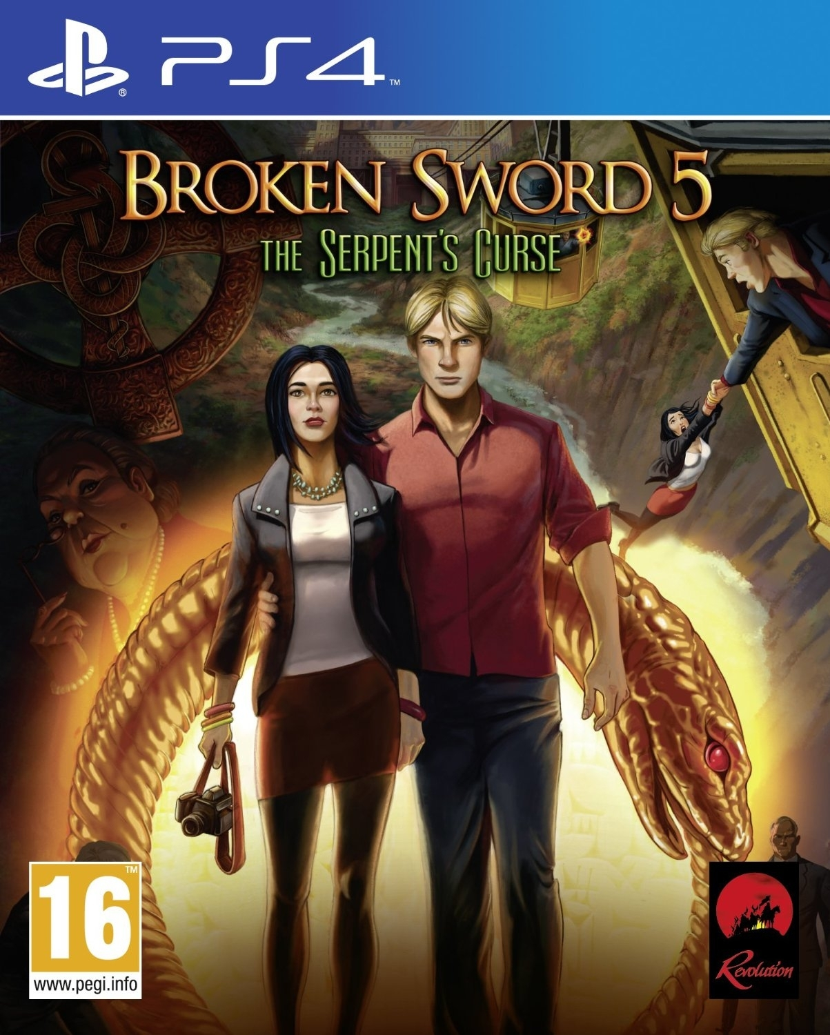 Broken Sword 5 The Serpent's Curse PL (PS4)